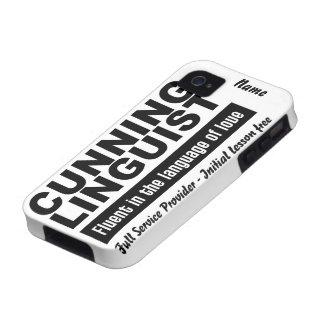 Cunning Linguist custom iPhone 4 Case-Mate Case-Mate iPhone 4 Cases