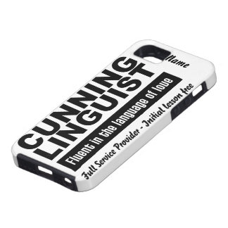 Cunning Linguist custom iPhone 5 Case-Mate