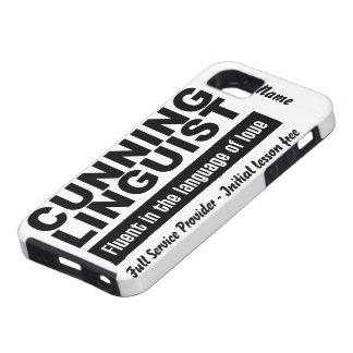 Cunning Linguist custom iPhone 5 Case-Mate iPhone 5 Covers