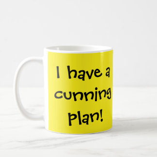 Cunning Plan Classic White Coffee Mug