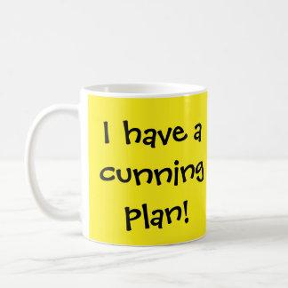 Cunning Plan Basic White Mug