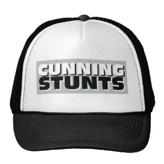 Cunning stunts trucker hat