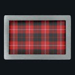 """Cunningham Belt Buckle<br><div class=""""desc"""">Cunningham clan tartan plaid</div>"""