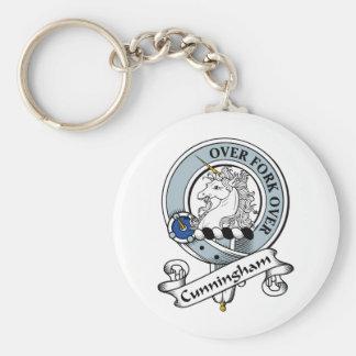 Cunningham Clan Badge Keychain