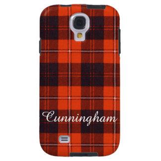 Cunningham clan Plaid Scottish tartan Galaxy S4 Case