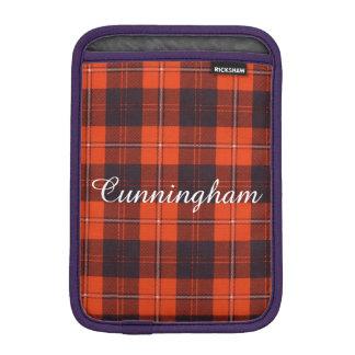 Cunningham clan Plaid Scottish tartan iPad Mini Sleeve