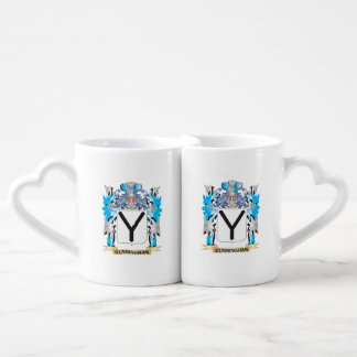 Cunningham Coat of Arms - Family Crest Couple Mugs