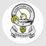 CUNNINGHAM Coat of Arms Sticker