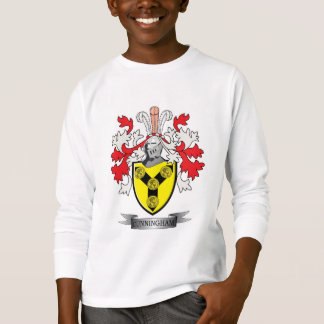 Cunningham Family Crest Coat of Arms T-Shirt