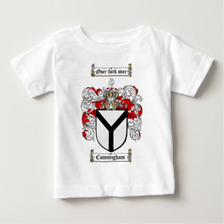 CUNNINGHAM FAMILY CREST -  CUNNINGHAM COAT OF ARMS BABY T-Shirt