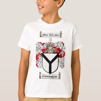 CUNNINGHAM FAMILY CREST -  CUNNINGHAM COAT OF ARMS T-Shirt