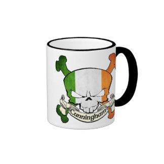 Cunningham Irish Skull Mugs