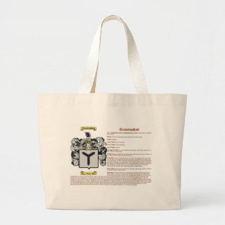 Cunningham (meaning) canvas bags