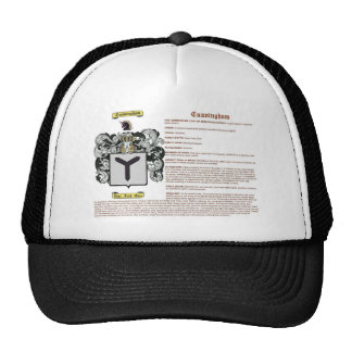 Cunningham (meaning) hat