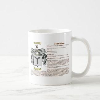 Cunningham (meaning) coffee mug