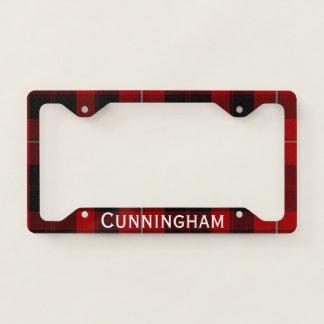 Cunningham Plaid License Plate Frame