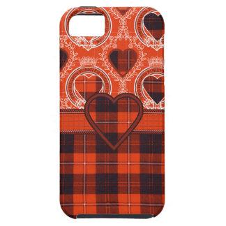 Cunningham Scottish clan tartan - Plaid iPhone 5 Cases