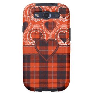 Cunningham Scottish clan tartan - Plaid Galaxy SIII Case