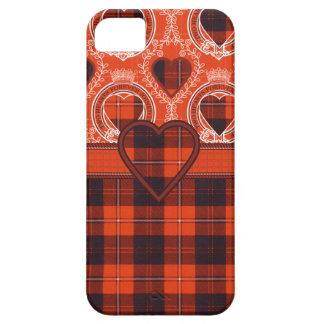 Cunningham Scottish clan tartan - Plaid Cover For iPhone 5/5S