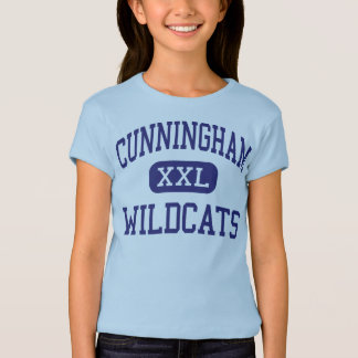 Cunningham Wildcats Middle Houston Texas T-Shirt