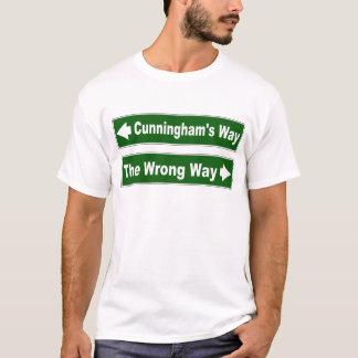 Cunningham's Way Street Sign Clan Shirt
