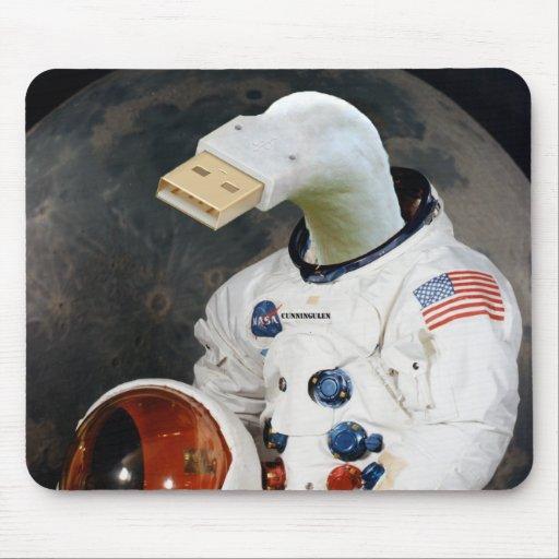 Cunningulen el astronauta tapetes de raton