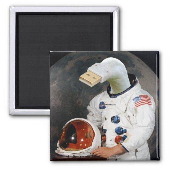 Cunningulen the Astronaut Magnet