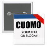 CUOMO 2010 PINBACK BUTTONS