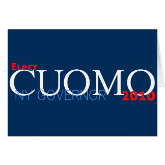 Cuomo for Governor Greeting Card