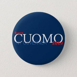 Cuomo for Governor Pinback Button