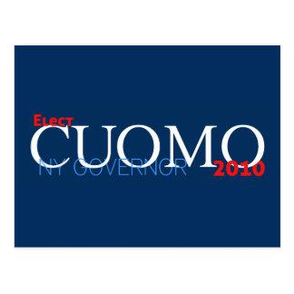 Cuomo for Governor Postcard