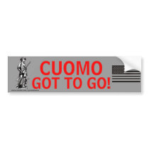 Cuomo Got To GO! Bumper Sticker