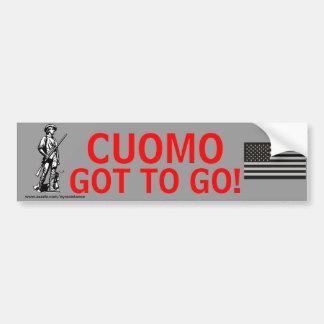 Cuomo Got To GO! Bumper Sticker