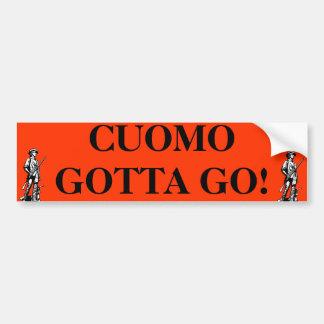 Cuomo Gotta G0 Car Bumper Sticker