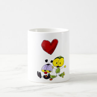 Cup ant and frog heart