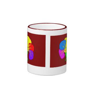 Cup, ballet shoe-6 ringer mug
