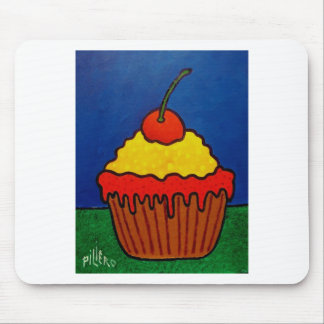 Cup Cake by Piliero Mouse Pad