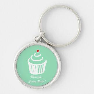 Cup cake love Keychain