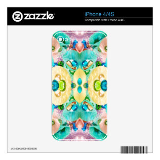 Cup Cake Paper Dreams iPhone 4S Skins