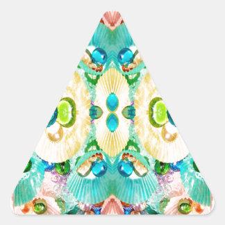 Cup Cake Paper Dreams Triangle Sticker