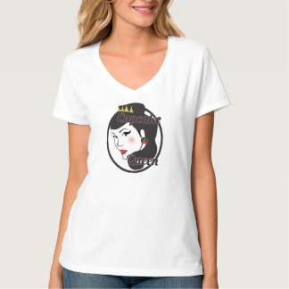 Cup cake queen t shirts