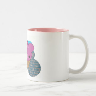 CUP-cake Two-Tone Coffee Mug