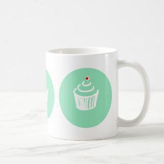 Cup cakes Love Green Mug