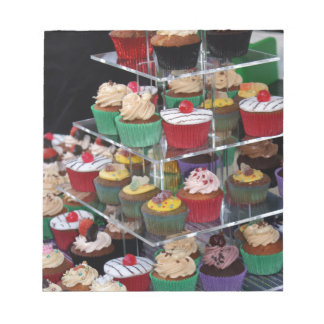 Cup cakes notepad