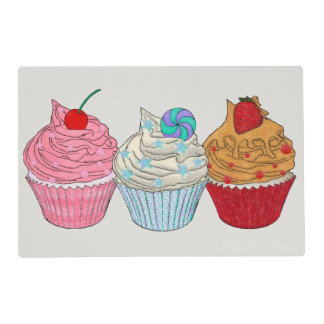 Cup Cakes Placemat