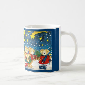 "Cup ""Christmas bear with gifts """