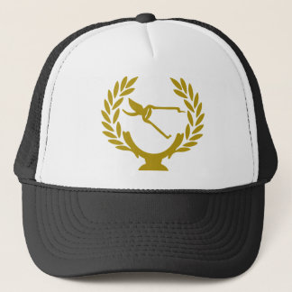 Cup-crown-agry-scissors Trucker Hat