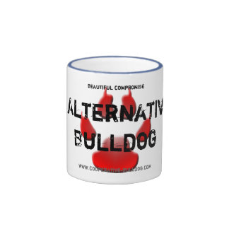 Cup (cup) of American Bulldog Coffee Mug