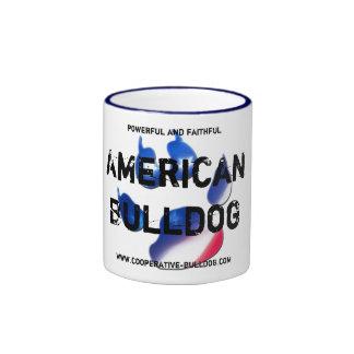 Cup (cup) of American Bulldog Mug