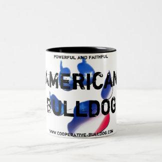 Cup (cup) of American Bulldog Coffee Mugs